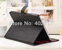 New South Korea fashion Leather case for ipad Air for ipad 5 with stand cover high quality Free Shipping