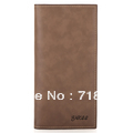 Male long short design wallet fashionable casual commercial wallets 2013 For man  Men's high quality leather purse Free shipping