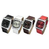 4 PCS Cool Fashionable Men Quartz Leather Wrist Watches Wholesale Price