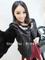 Sell like hot cakes in qiu dong wool-like coat woolly coat elegant coat expensive fur coat