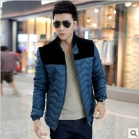 The new 2013 men cotton-padded jacket with thick cotton-padded jacket cotton men's clothing of cultivate one's morality coat