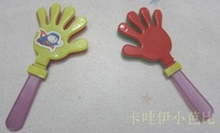 Child clapping device plastic toy hand  for palm   shoot props FREE SHIPPING