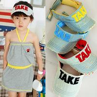 Free Shipping Children Visors Take Hat Baby Sun Hat UV Tide Wholesale