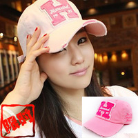 Free Shipping Korean Baseball Cap Hole H Letter Ms. Korean Version Of The Hat Baseball Cap Sun Visor Cap Wholesale