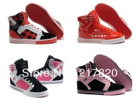 2013 New Hip Hop Women Skateboarding Shoes,High Top Sneakers Hot On Sale Sports shoes Fashion Women sport shoes  size36-40