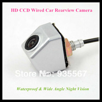 High Quality Russian CCD Wired Car Rear view Camera for Universal model with Night Vision 170 degree waterproof c1090k 520 line