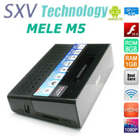 IN STOCK model  Mele M5 A20 TV Box Android 4.2 Dual Core RAM 1GB ROM 8GB Support WIFI HDMI With Remote