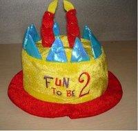 Factory birthday headband/birthday cap/baby's birthday hat Creative