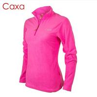 1186 caxa Women thickening polar fleece fabric sweatshirt outdoor fleece clothing Women outdoor jacket liner