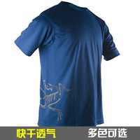 Outdoor special paragraph memorial coolmax quick-drying t-shirt quick dry t-shirt breathable short-sleeve