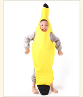 New Arrival Good quality party decoration supplies active novelty children's costumes fancy dress banana costume free shipment