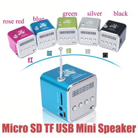 Micro SD TF USB Mini Speaker Music Player Portable FM Radio Stereo PC mp3