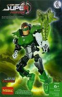 Decool Toy Robot 3 0 Hero Factory Green Lantern Children's Educational Toys Green Lantern classic toys 2013 New Hot
