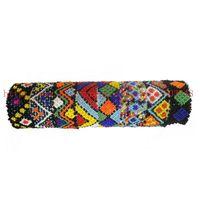 .Free shipping 12pcs mixed /lot stretch Popular Glass Seedbead Friendship Hipanema bracelet
