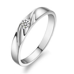 Кольцо DALI Jewelry 925 , AAA , 3 WR07 аксессуары mei xia jewelry 925