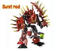Decool Toy Robot 4 0 Fight Inserted Blocks Hero Factory Strange Burst