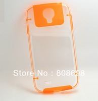 Hot new arrivel ultrathin clear protective cover noctilucent case for I9500 Galaxy S4