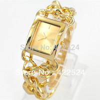 Luxury dress watch Retro gold women table Japan movement quartz Bracelet Wristwatch  High Quality  Stainless steel 4 colors