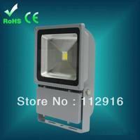 2pcs/lot 100w led floodlight waterproof outdoor street light projector led 110lm/w garden landscape lighting