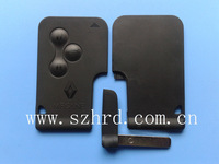 renault Megane 3 buttons smart card shell megane key card