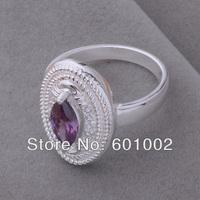 GY-AR006 SIZE 8 # BIG sale ! Free Shipping Wholesale 925 silver fashion RING WQE GSDAGD