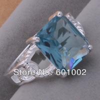 GY-AR027 SIZE 8 # BIG sale ! Free Shipping Wholesale 925 silver fashion RING LJKHJGF
