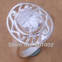 GY-AR023 SIZE 8 # BIG sale ! Free Shipping Wholesale 925 silver fashion RING YASFHUIUSIF