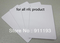100pcs/lot NFC card/label/tag for phone NTAG203 for Samsung Galaxy S4 and compatible with all nfc phone