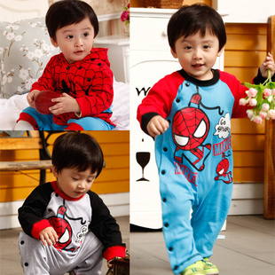 Baby clothes baby infant spring boys spring clothing 2013 0-1 year old baby clothes(China (Mainland))