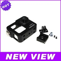 New Arrival Accessories Aluminum Alloy Shell & The Black Dog Suit For Gopro Free Shipping