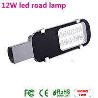 Free shipping high brightness LED Street Lights AC85V ~ 265V 12W 1300LM patio lights 4PCS/lot