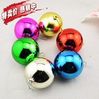 Christmas 8cm the light ball multicolour ball decoration lobbing costumes