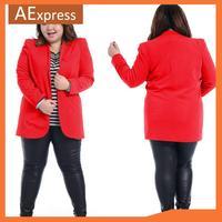 Autumn New Arrival Fashion Women Blazers with Fully Lined, Plus Size Casual Jacket, XL, XXL, XXXL, P-145