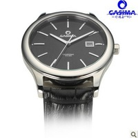 Free Shipping CASIMA 5107 casual business men's sports watch multifunction calendar 50M waterproof watches leather strap