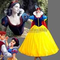 Free Shipping Custom-made Christmas Cosplay Costume Snow White Princess Dress Costume