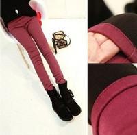 Autumn Winter Women Thicken Plus velvet Pencil pants Elasticity Boots  Leggings free shipping