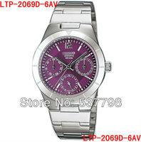 New Analog Ladies Watch LTP-2069D-6AV LTP-2069D Brand Watch Women LTP-2069D-6A Women Wristwatch