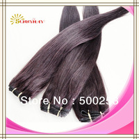 Sunnymay hot sell fast shipment products 100g/pc straight 10''-24''  brazilian virgin hair red hair extensions weft