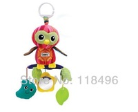FREE SHIPPING baby bed/car hanging toy plush toy rattle teether baby newborn gift multifunction educational