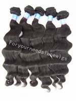 Good price Peruvian Hair Extensions,100% human hair weave,wavy hair weft,3pcs/lot,Wholesale hair with free shipping