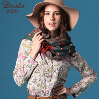 2013 female long design bohemia cape thick scarf