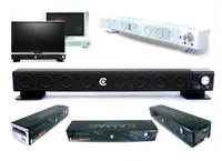 Bar Style Bluetooth multi - media Built -in Subwoofer 2.1 Channel speaker CAMAC CMK - 30 abs for LCD Monitor desktop laptop