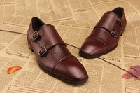 New 2014 men genuine leather shoes brand name men dress shoes good walking flats shoes for mens wedding