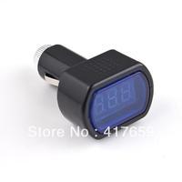 1pcs Electric LED Display Cigarette Lighter DC 12V-24V Voltage Meter Tester For Auto Car Battery
