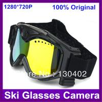2013 Newest Sports Camera  Action Camera HD 720p Ski Sport glasses video camera Goggles skiing Sunglasses Free Shipping