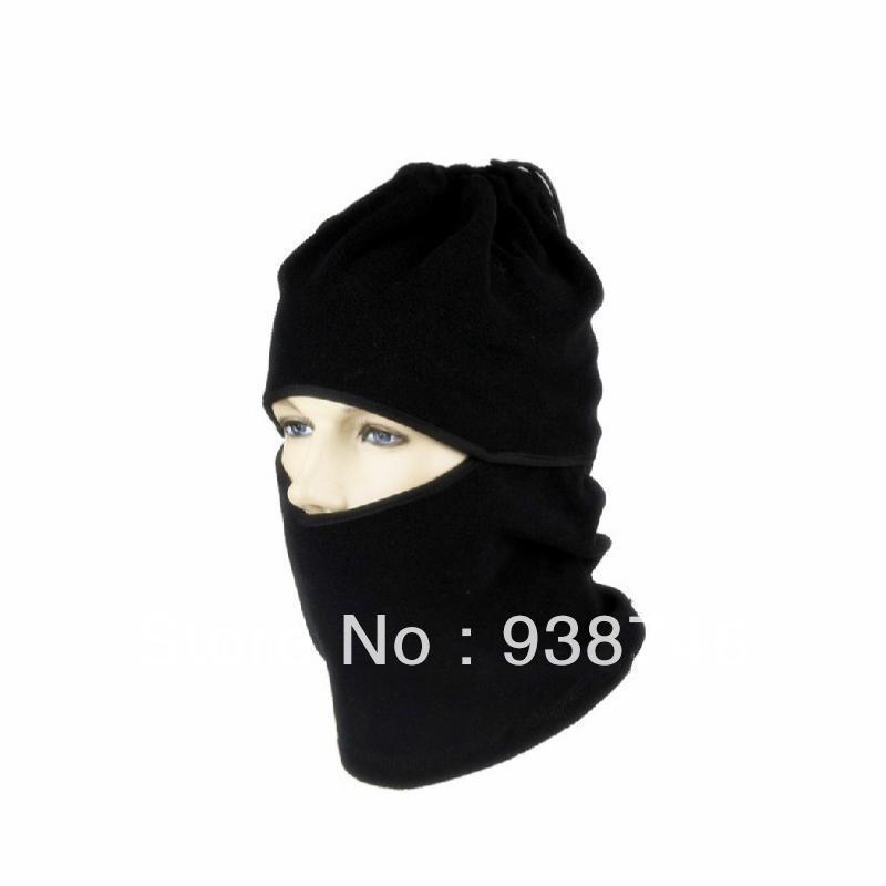 Men's Windproof Winter Fleece Balaclava Scarf Hat(China (Mainland