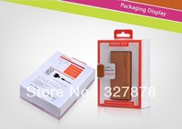 Free Shipping Power Bank External battery With USB port  5500mah  Metrans Genuine Leather