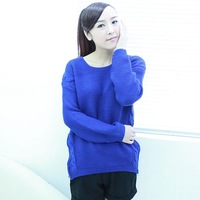 2013 women's autumn and winter twisted sweater female long-sleeve pullover sweater