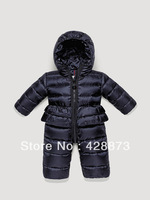 2013 baby down coat down coat baby bodysuit fashion newborn clothes