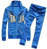 2013 autumn and winter the sport set  Top designer fashion hoodies Sweatshirts set 3color men sport suits